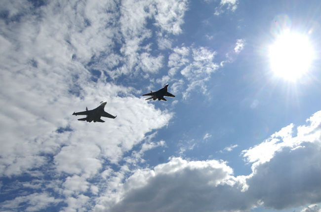 НАТО чешет репу самолеты, россия