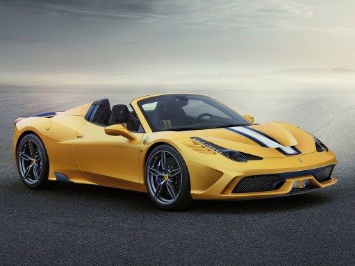Суперкар 458 Speciale A стал прощанием с атмосферными V8 Ferrari