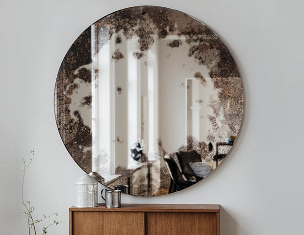 Оформление зеркал - идеи