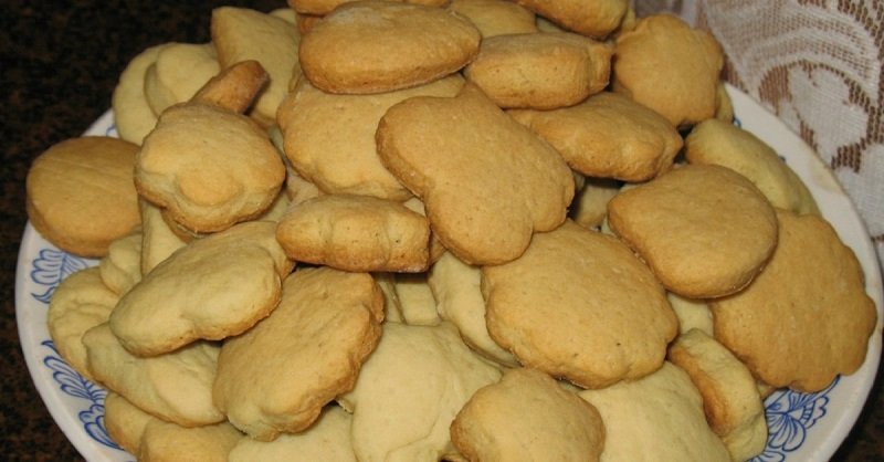 печенье на рассоле из детства