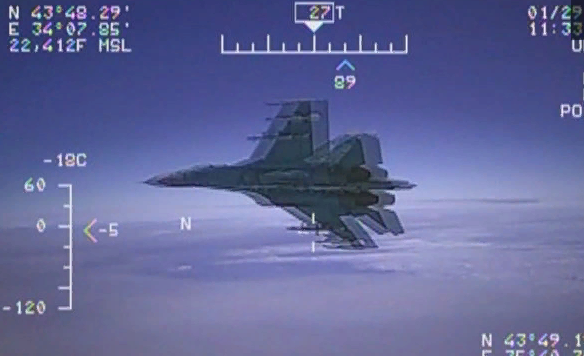 США пожаловались, что их самолет-разведчик перехватили у российских границ