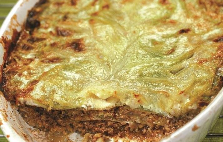 ЛАЗАНЬЯ ИЗ МОЛОДОЙ КАПУСТЫ - Горячие блюда из капусты