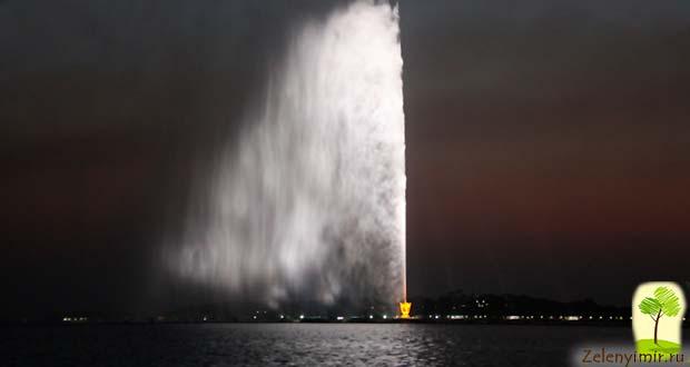 Фонтан Фахда - самый высокий фонтан в мире, Саудовская Аравия - 5
