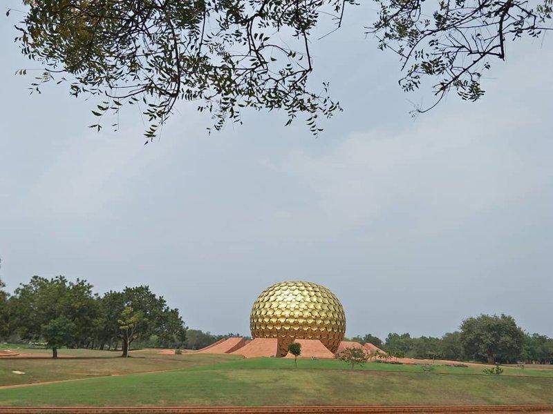Ауровиль (Auroville), Индия город-призрак, прогресс, сонгдо, умный город, утопия, южная корея