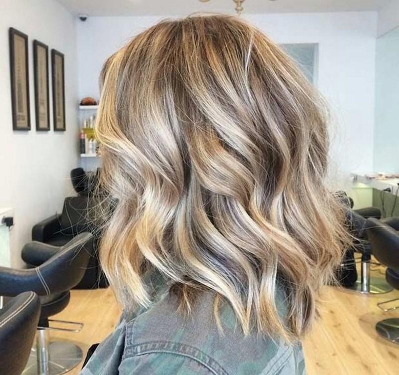 мелирование волос фото 2018