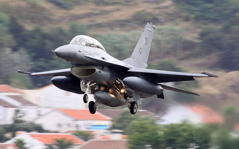 Индийские ВВС сбили истребитель F-16 ВВС Пакистана
