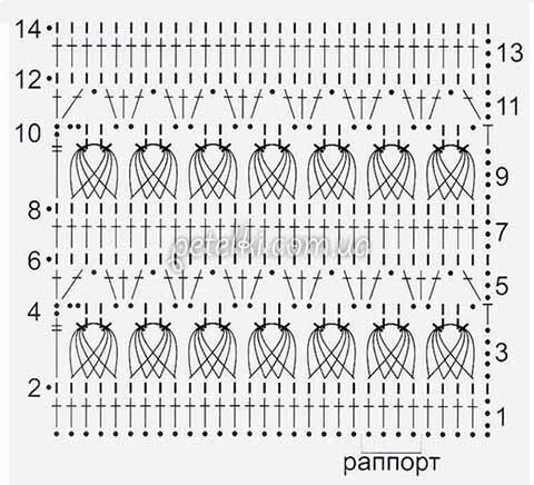 Перуанское вязание схема 35