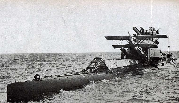 Как Япония хотела атаковать США подводными лодками авианосцами