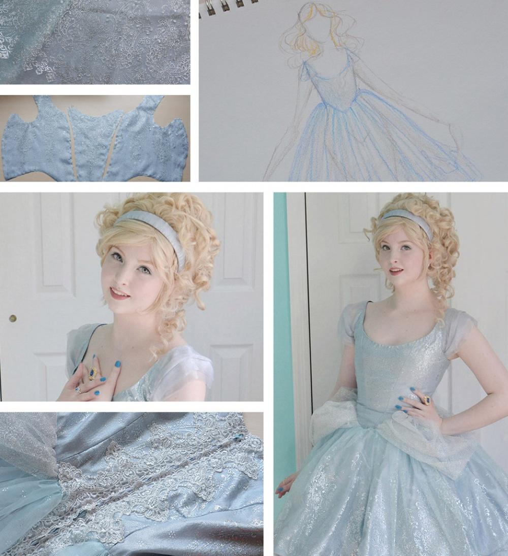 18-летняя девушка шьет платья, от которых невозможно оторвать глаз