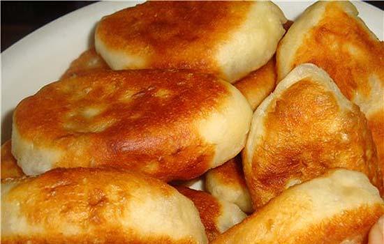 Тесто дрожжевое для пирожков жареных на сковороде пошаговый рецепт