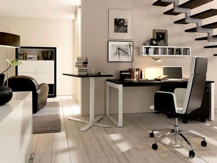Офисная мебель в домашнем интерьере
