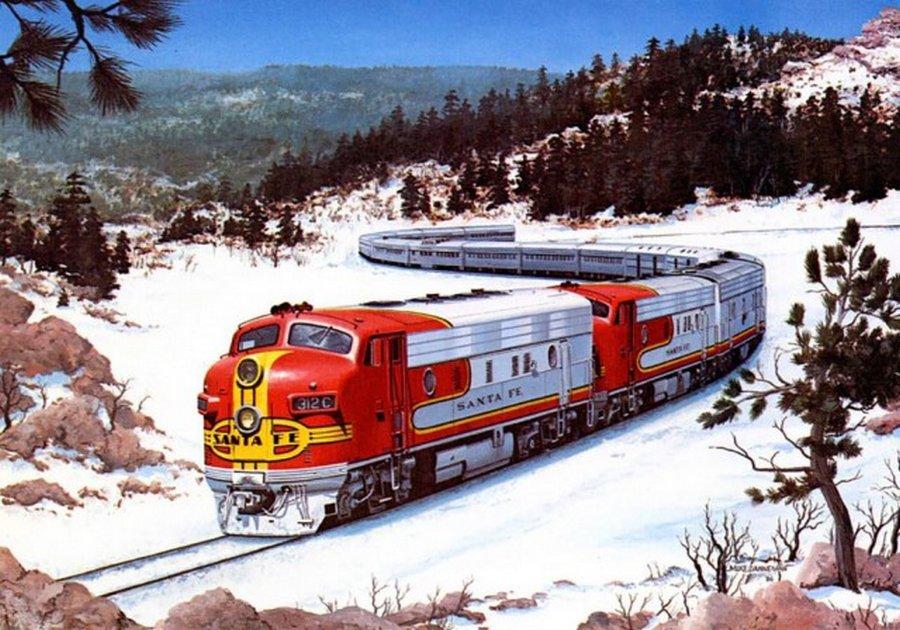 Великий рельсовый погром: как в США сознательно «убили» пассажирские железные дороги