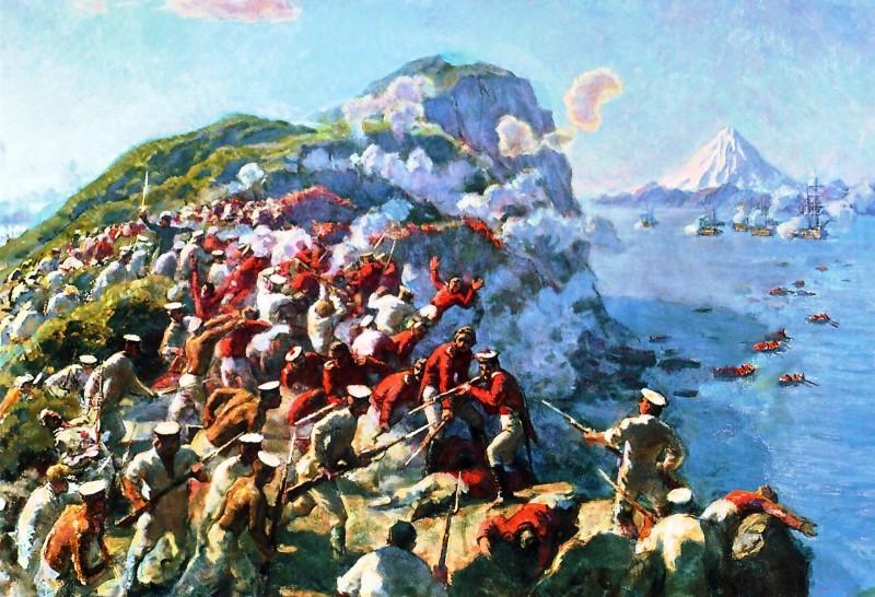 Славная победа русских в Крымскую войну