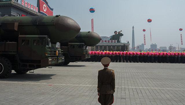 В Минобороны рассказали о падении ракеты КНДР близ территории РФ