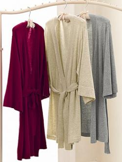 Простая выкройка халата с за…