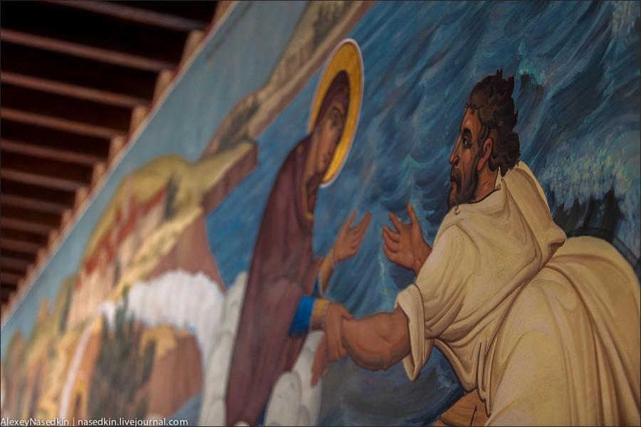 Монастырь Киккос в горах Кипра