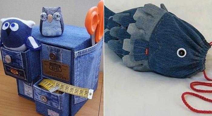 переделка джинсовой жилетки