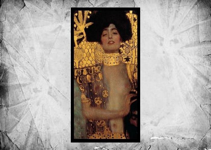 Фрагмент картины Густава Климта «Юдифь II», 1901 год.