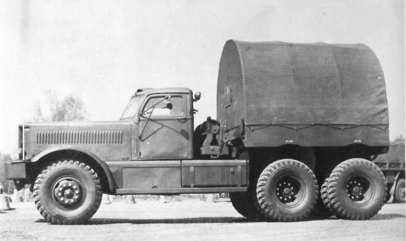 Другой ленд-лиз. Балластный тягач Diamond T 980/981