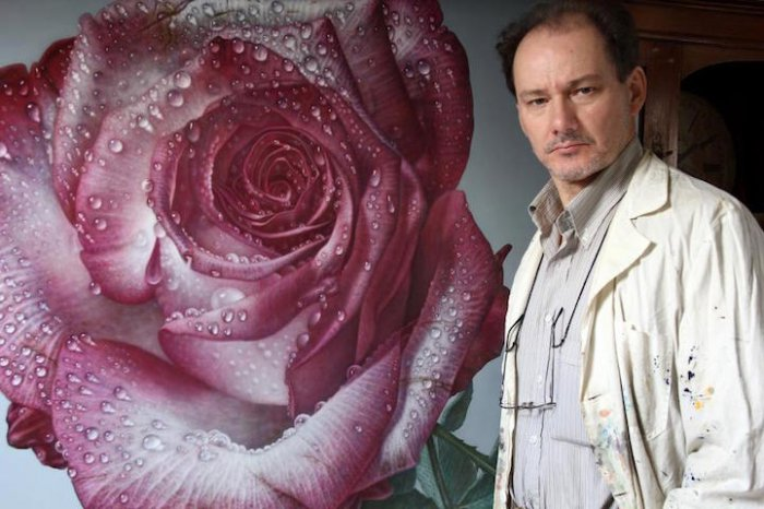 Гигантские гиперреалистичные розы