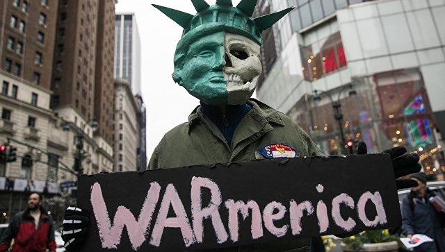 США охватили акции протеста по сирийскому вопросу