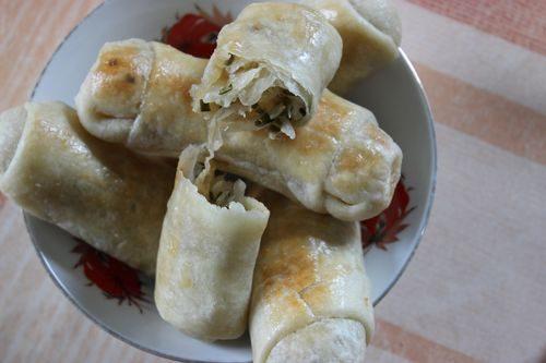 Вэрзэре — молдавские пирожки с капустой