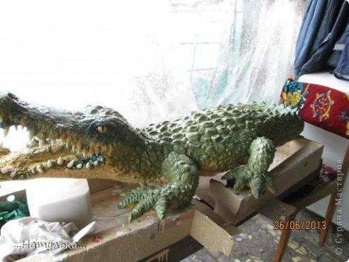 Делаем крокодила своими руками