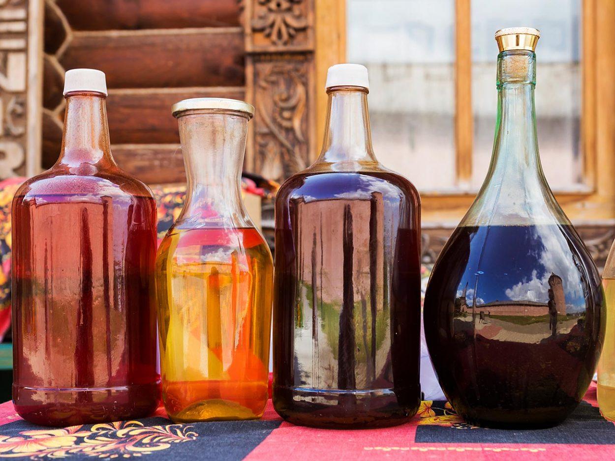 Традиционные русские алкогольные напитки