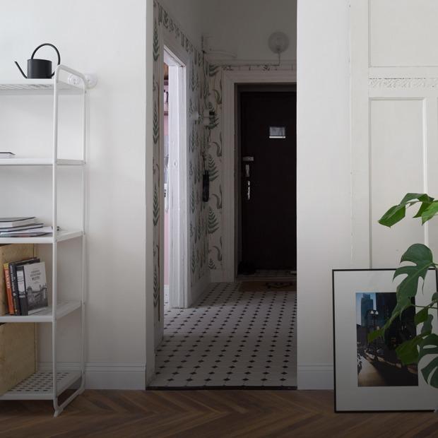 Светлая круговая квартира в Доме купца Полежаева (Петербург)