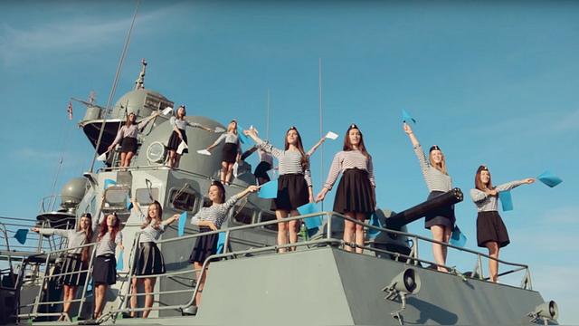 Ouest-France: Севастопольских «Дочерей офицеров» вдохновляет Путин