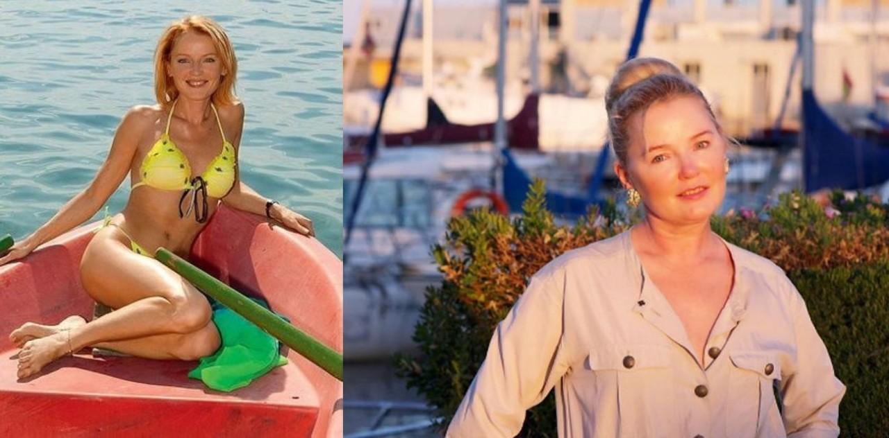 Лариса Вербицкая (57 лет) люди, телеведущие, телевизор, тогда и сейчас
