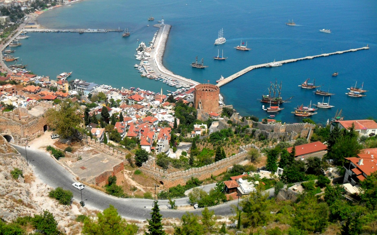 Тур в Средиземноморье. Курорт Аланья