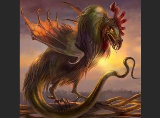 Мифические существа. Василиск