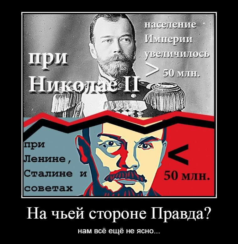 Разбор антисоветского мифа о убыли населения при большевиках