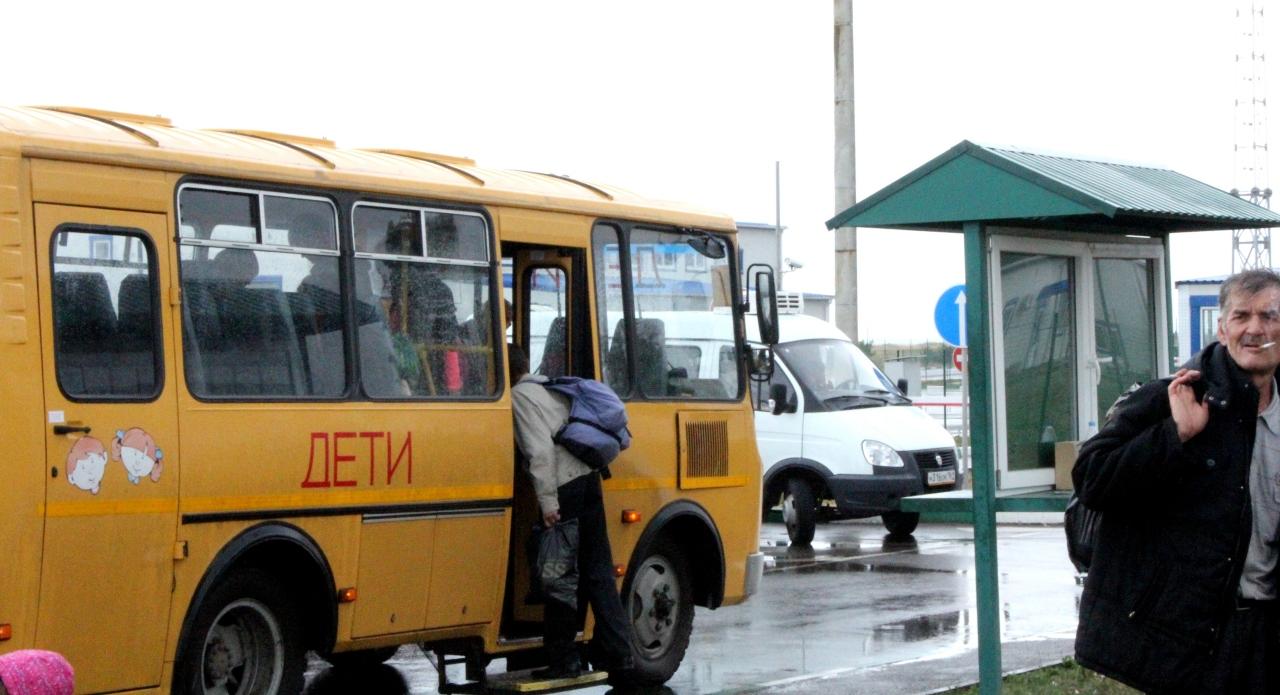 Сех в автобусе 9 фотография