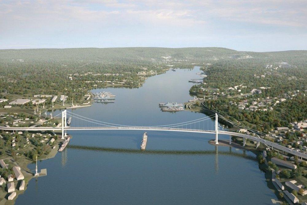 Рекомендованный проект Севастопольского моста