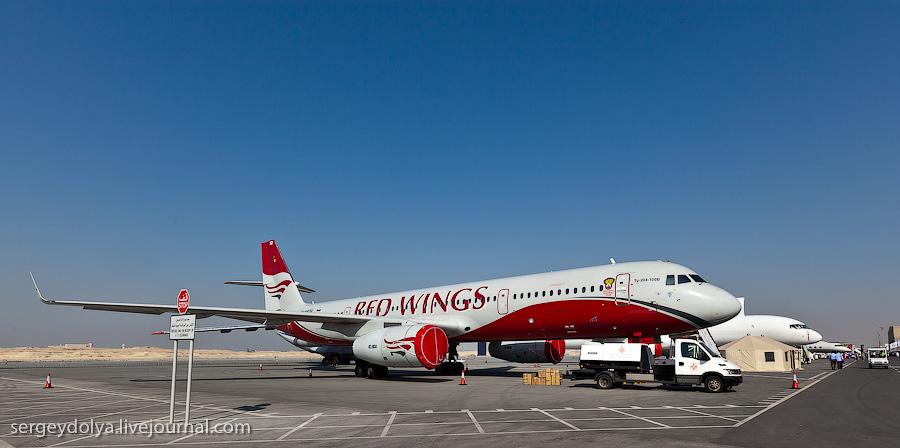 3182 Бахрейнский авиасалон: Интерьеры самолетов