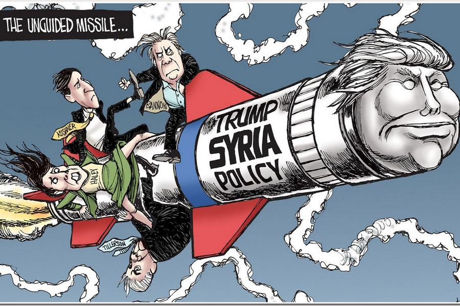 """Неуправляемая ракета """"Трамп"""""""