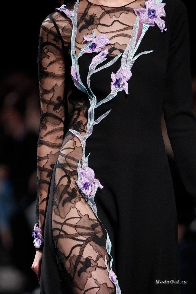 Сказочные платья в осенне-зимних коллекциях 2014-2015
