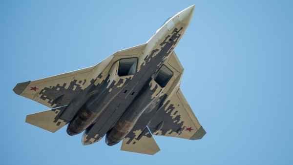 У Су-57 обнаружилось «лицо»