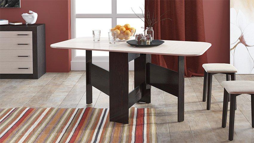 Раскладной стол для гостиной своими руками