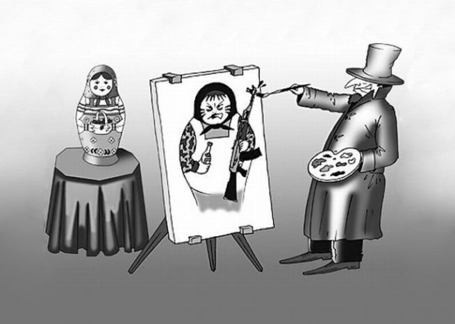 Диффамация русских и России