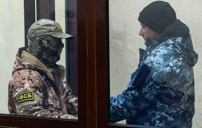 Как сидят украинские матросы в «Матросской Тишине»