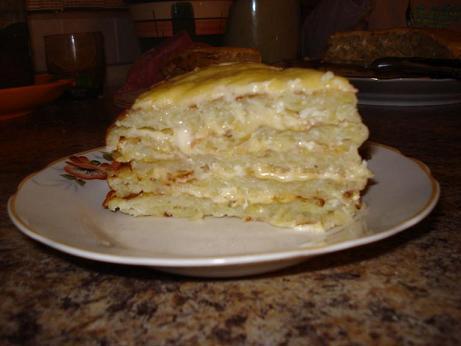 Картофельный пирог. Очень вкусно!