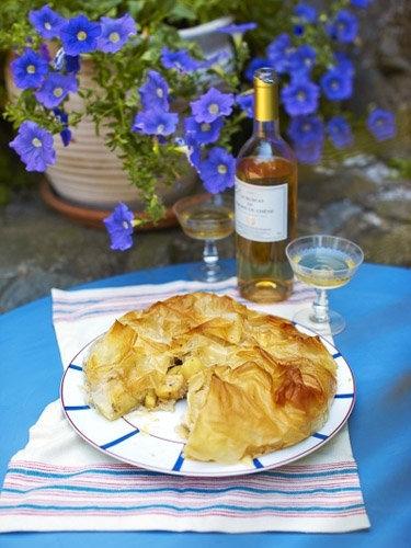 """Пирог с яблоками рецепт """"Свадебная фата"""""""