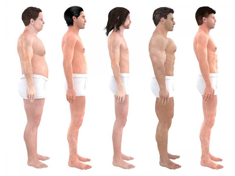 Как менялся идеал мужского тела