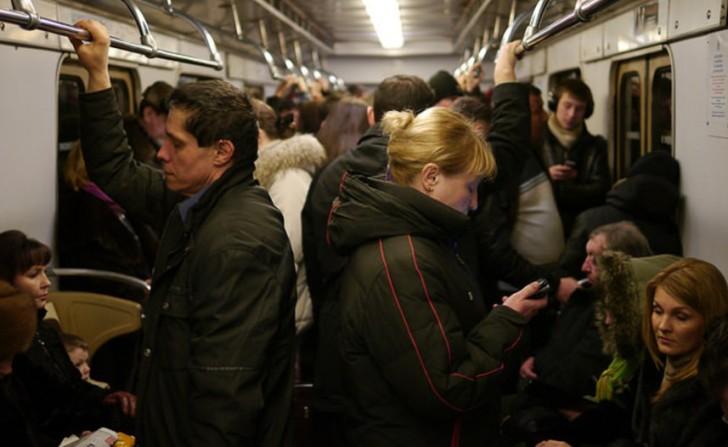 Случай в метро, металлист поставил на место невоспитанную мамашу