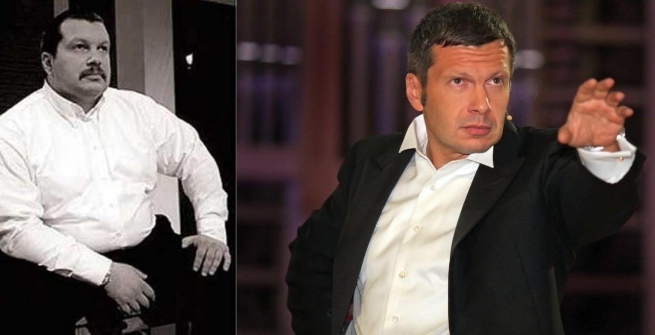 Владимир Соловьев (53 года) люди, телеведущие, телевизор, тогда и сейчас