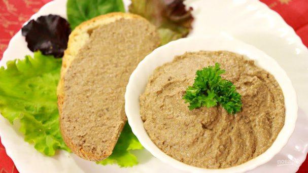 Домашний печеночный паштет - пошаговый рецепт с фото на Повар.ру