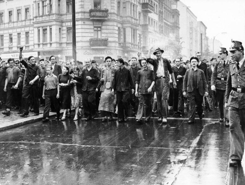 Восстание в ГДР 17 июня 1953 года